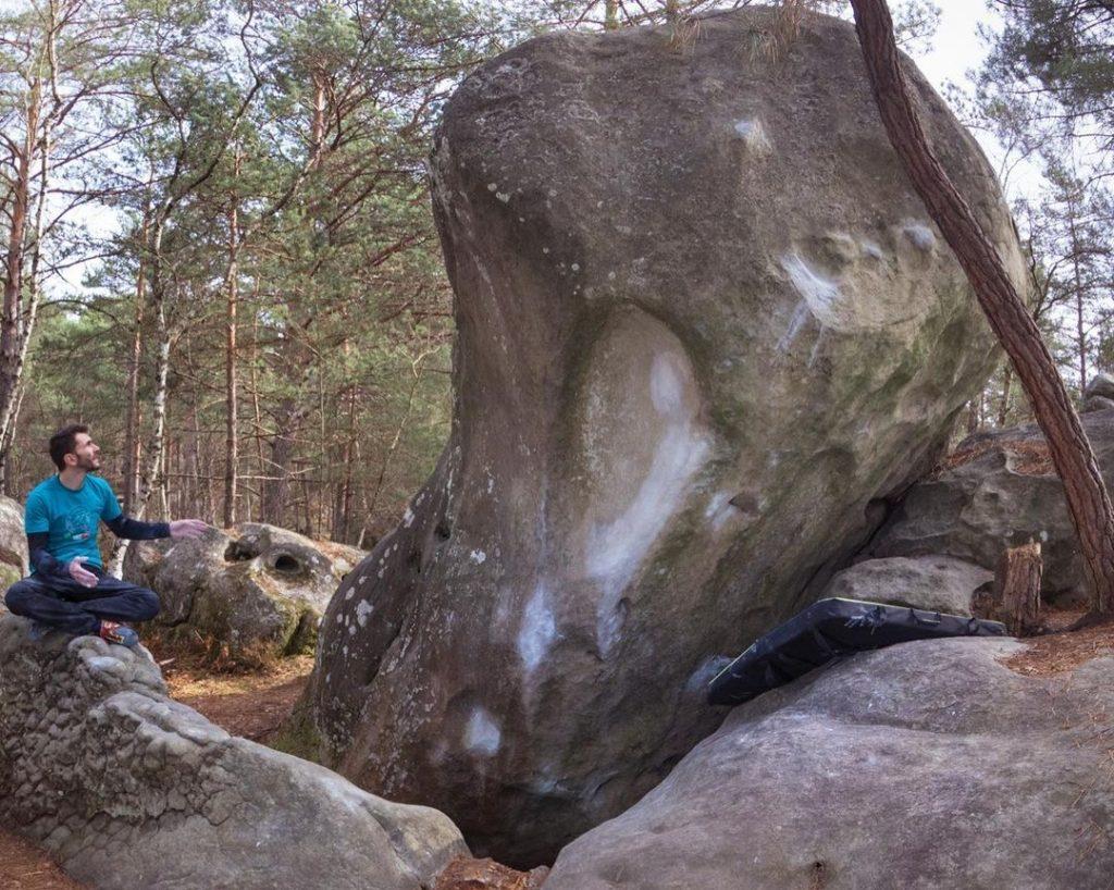 Manu Cornu en Fontainebleau