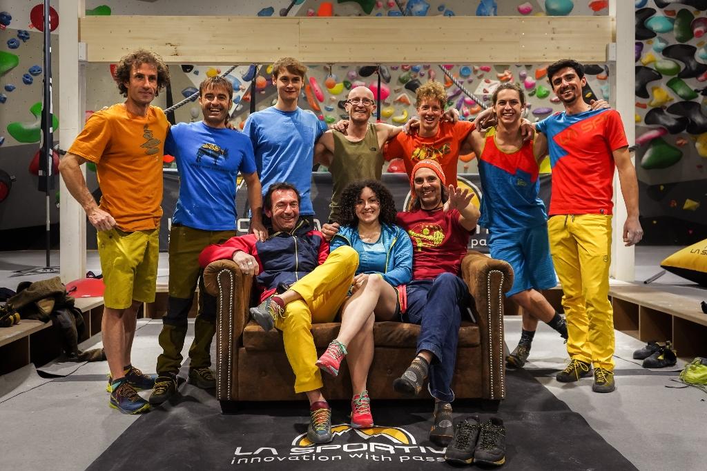 La Sportiva Climbing Come Together