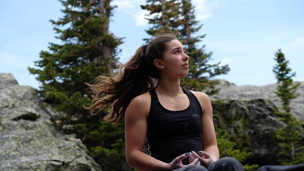 Brooke Raboutou escaladora olímpica