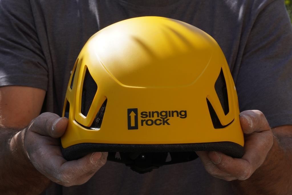 casco Singing Rock Hex