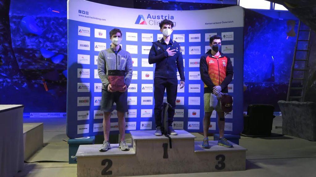 Alberto Ginés podio en Graz