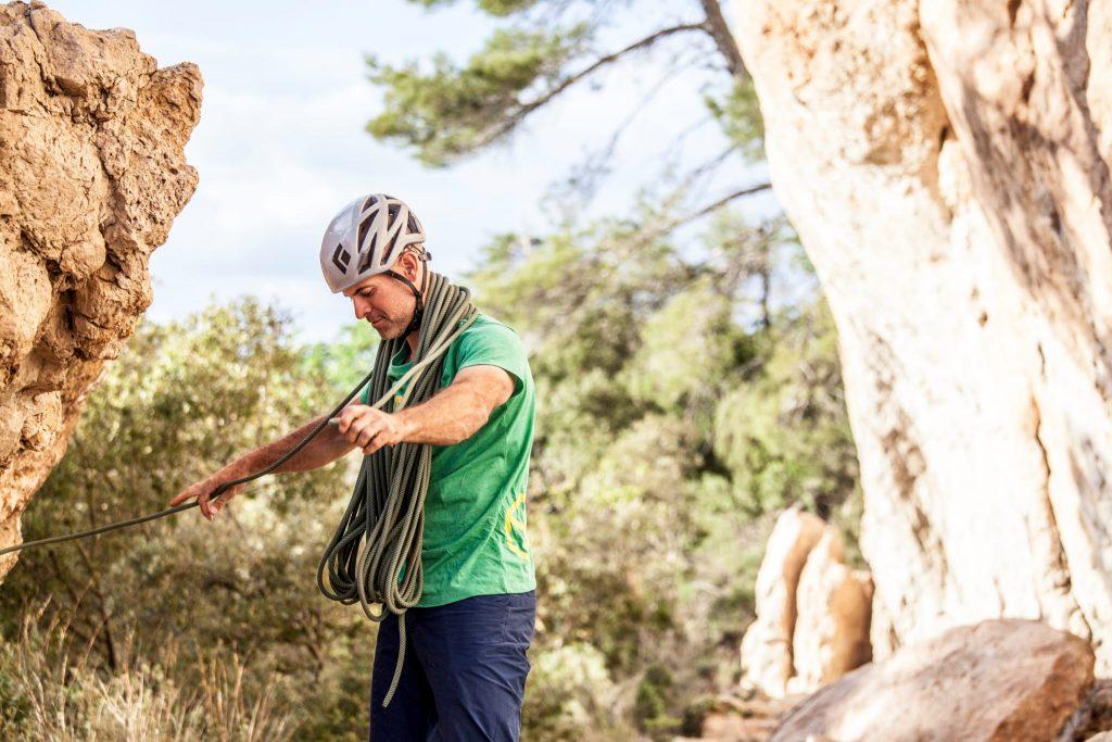 Santi Valerga guía de escalada