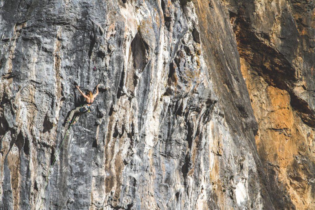 L'Argayu zona de escalada