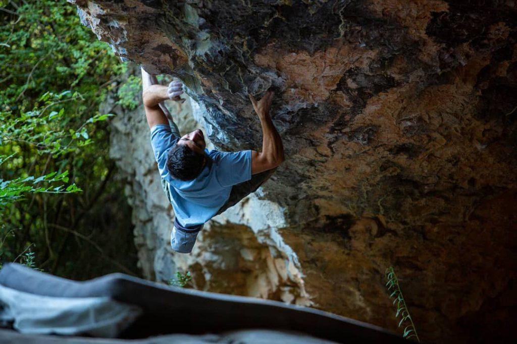 Jonatan Flor en la Cueva de Alí Babá