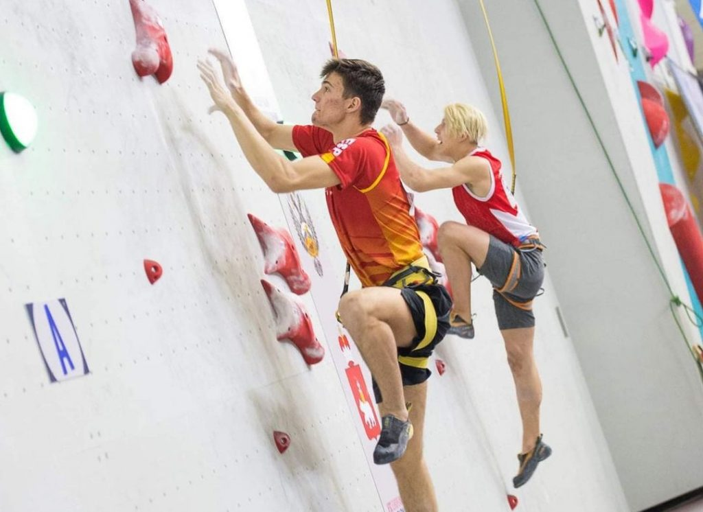 Alejo Bernabé escalador de velocidad