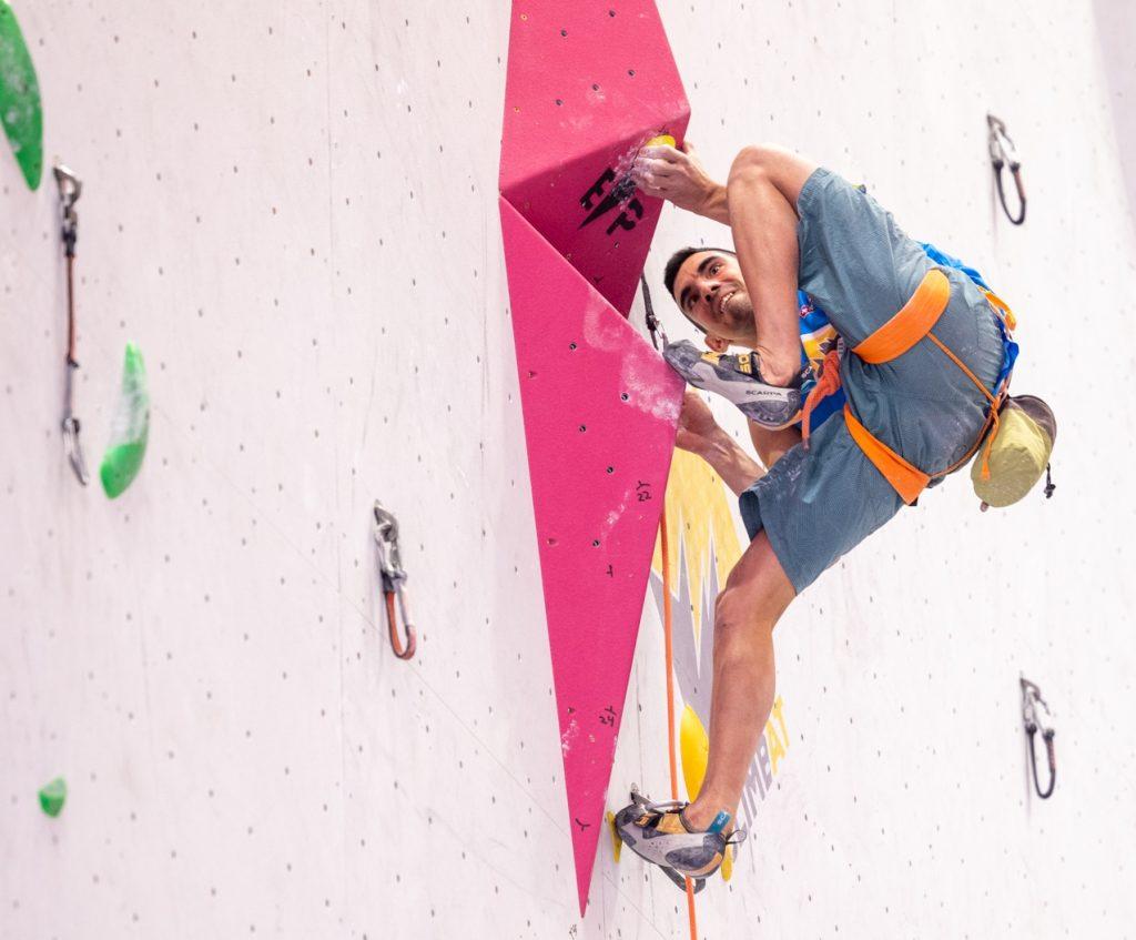 Jorge Díaz-Rullo compitiendo en Madrid