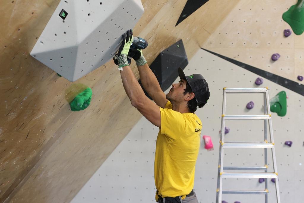 Albert Flaqué escalador