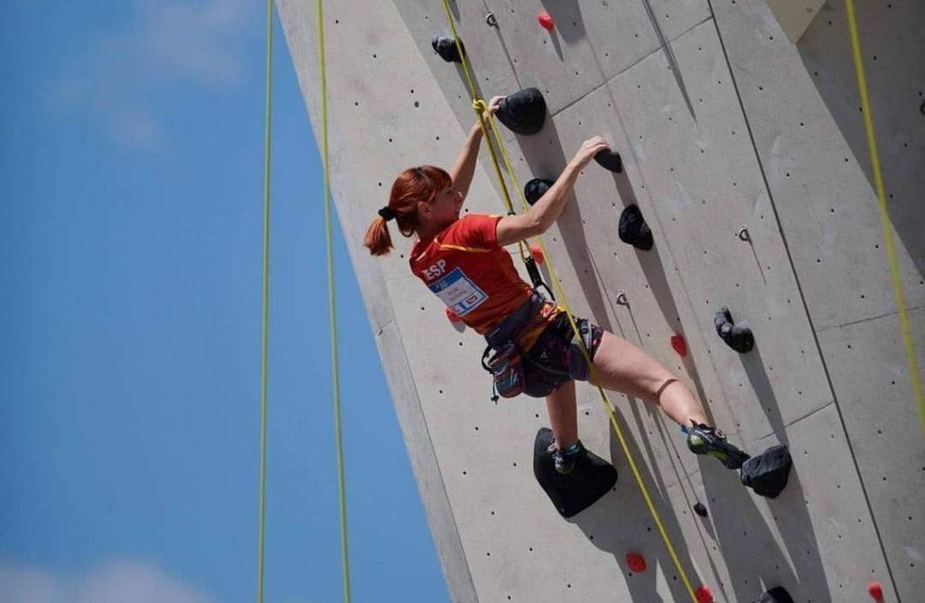 Marta Peche escaladora