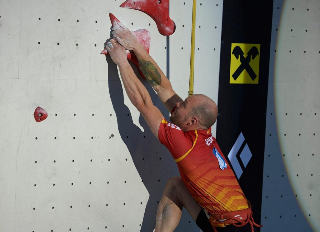 Erik Noya escalador de velocidad