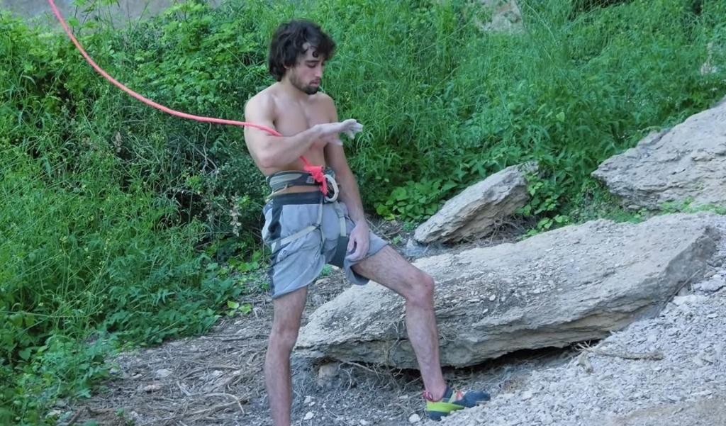 Alex Garriga escalador
