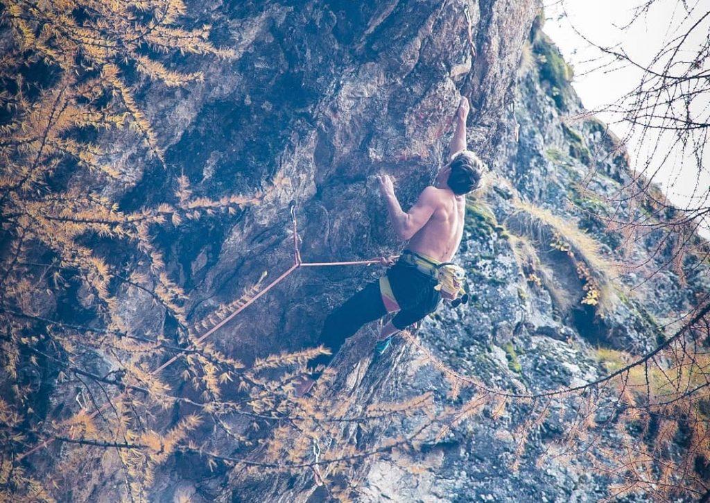 Tanguy Merard escalador francés