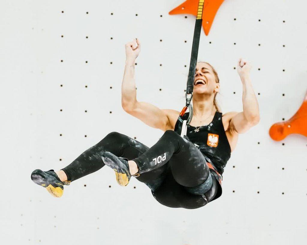 Aleksandra Miroslaw récord mundo velocidad en Tokio