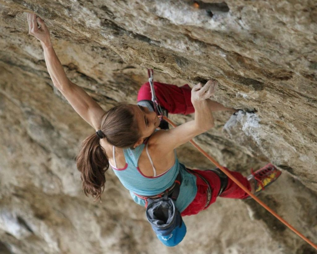 Laura Rogora escaladora italiana