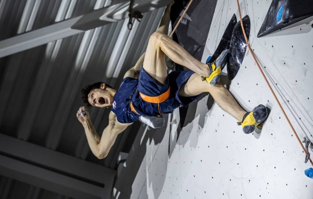 Hamish McArthur compitiendo en Voronezh