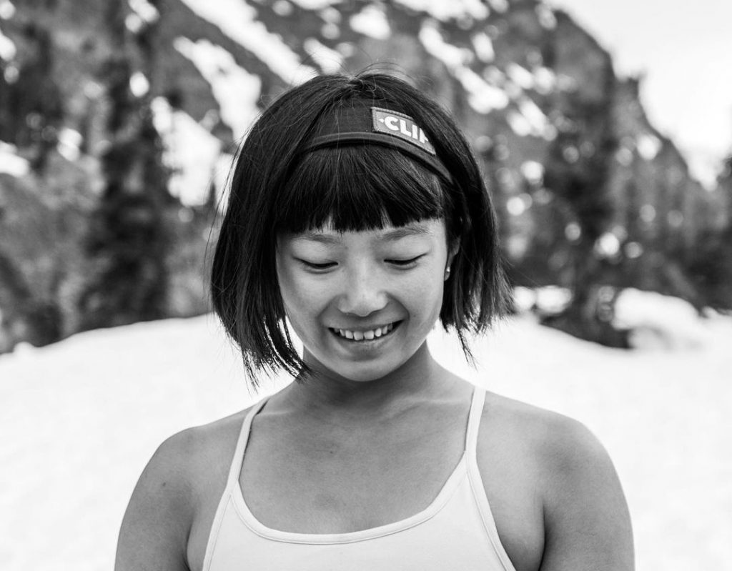 Ashima Shiraishi escaladora