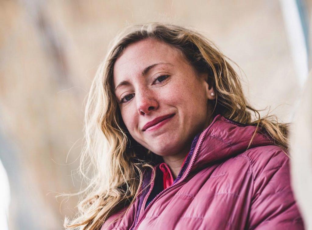 Michaela Kiersch escaladora