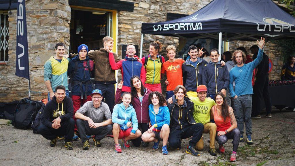Team La Sportiva en Rodellar