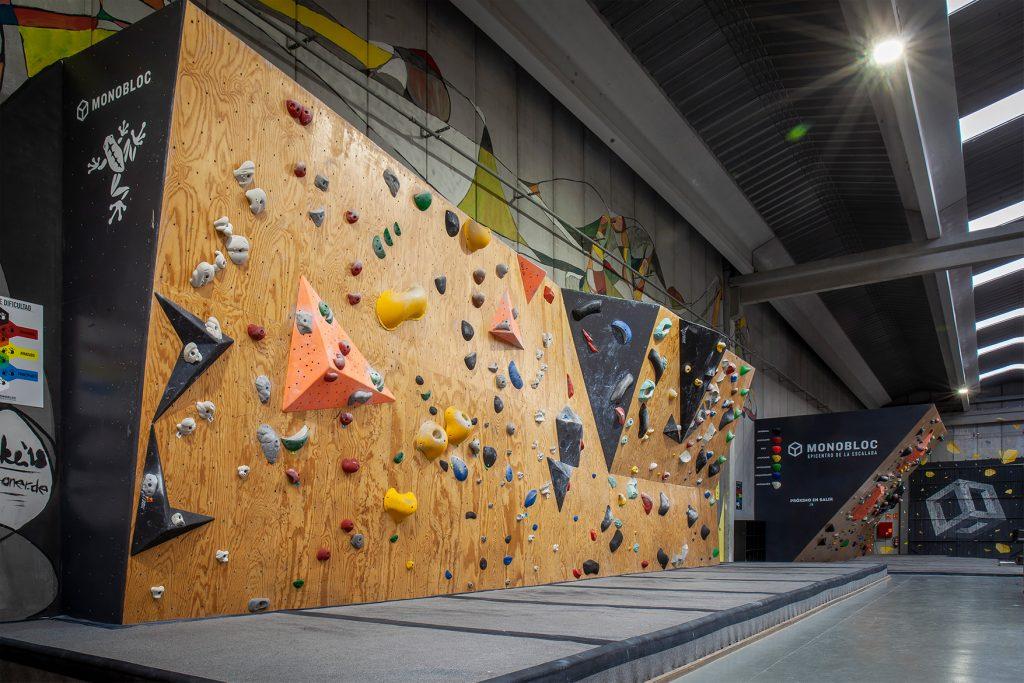 Sala de boulder Monobloc Reus