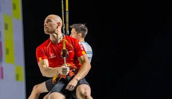 Erik Noya subcampeón del mundo de velocidad en Moscú 2021