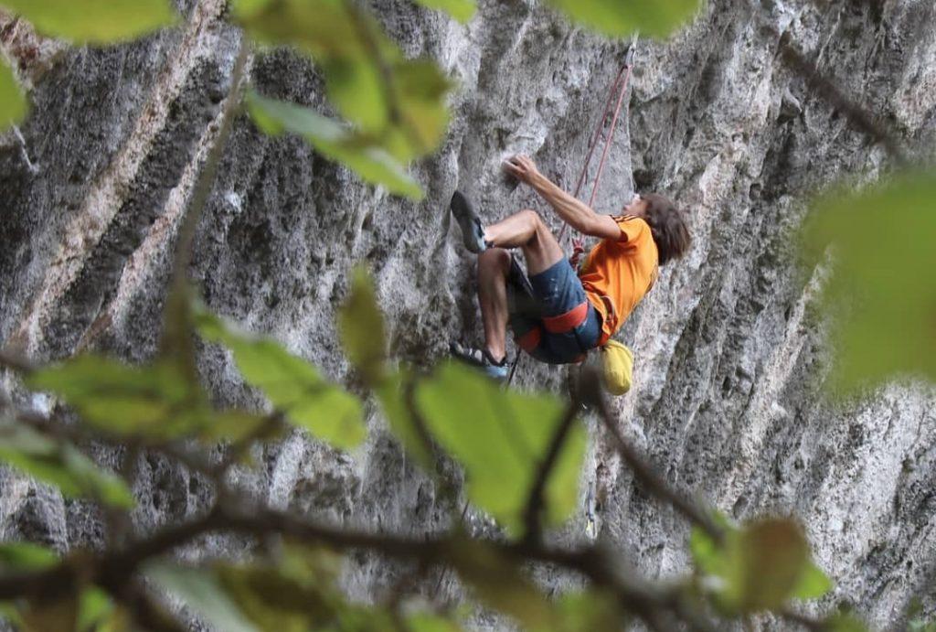 Martin Urrutia escalador