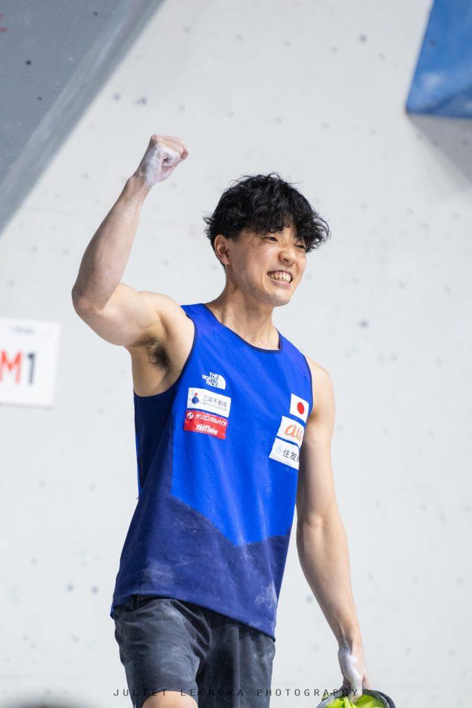 Kokoro Fujii campeón del mundo de boulder 2021